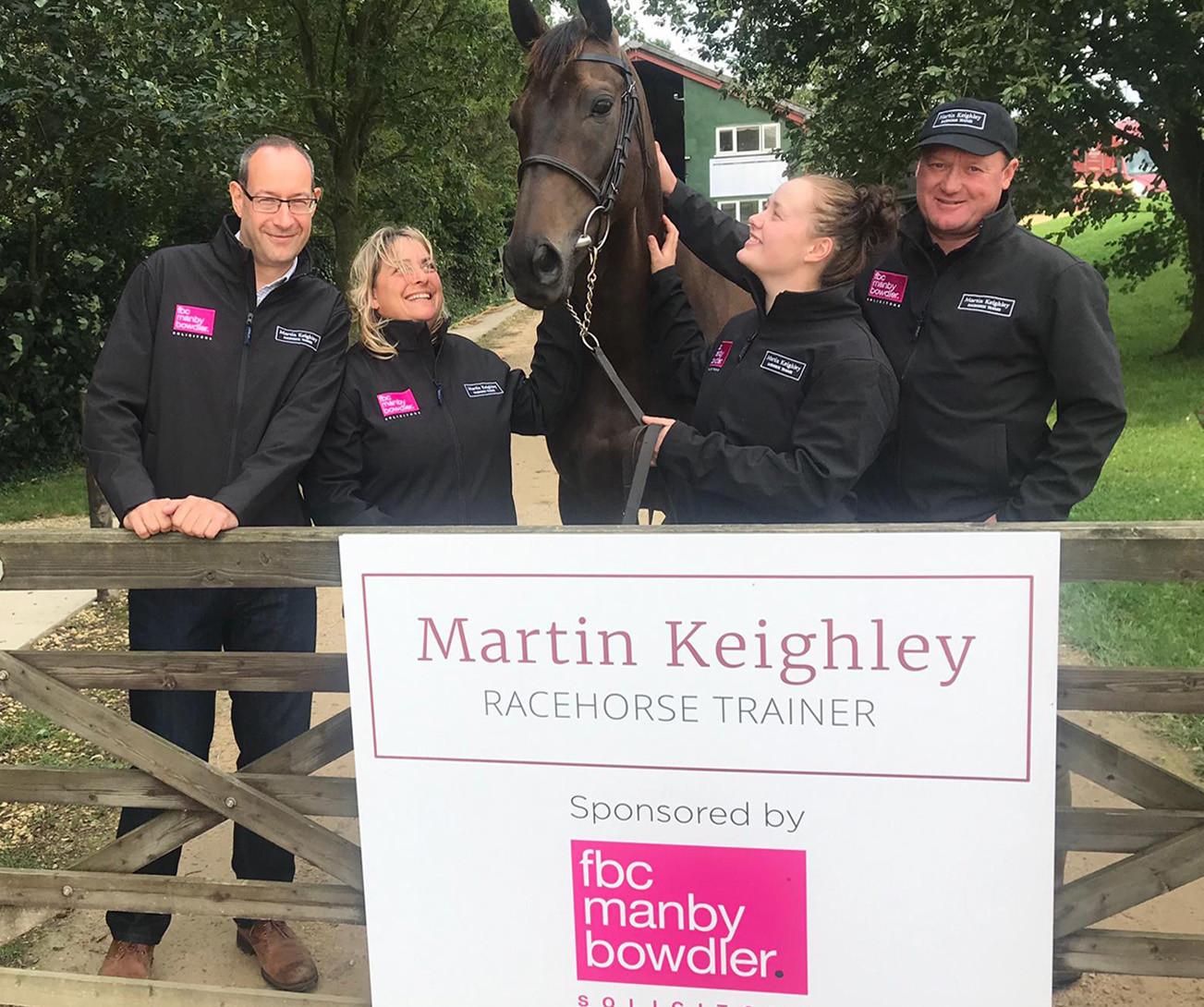 FBC Manby Bowdler backs winner with horse-racing sponsorship