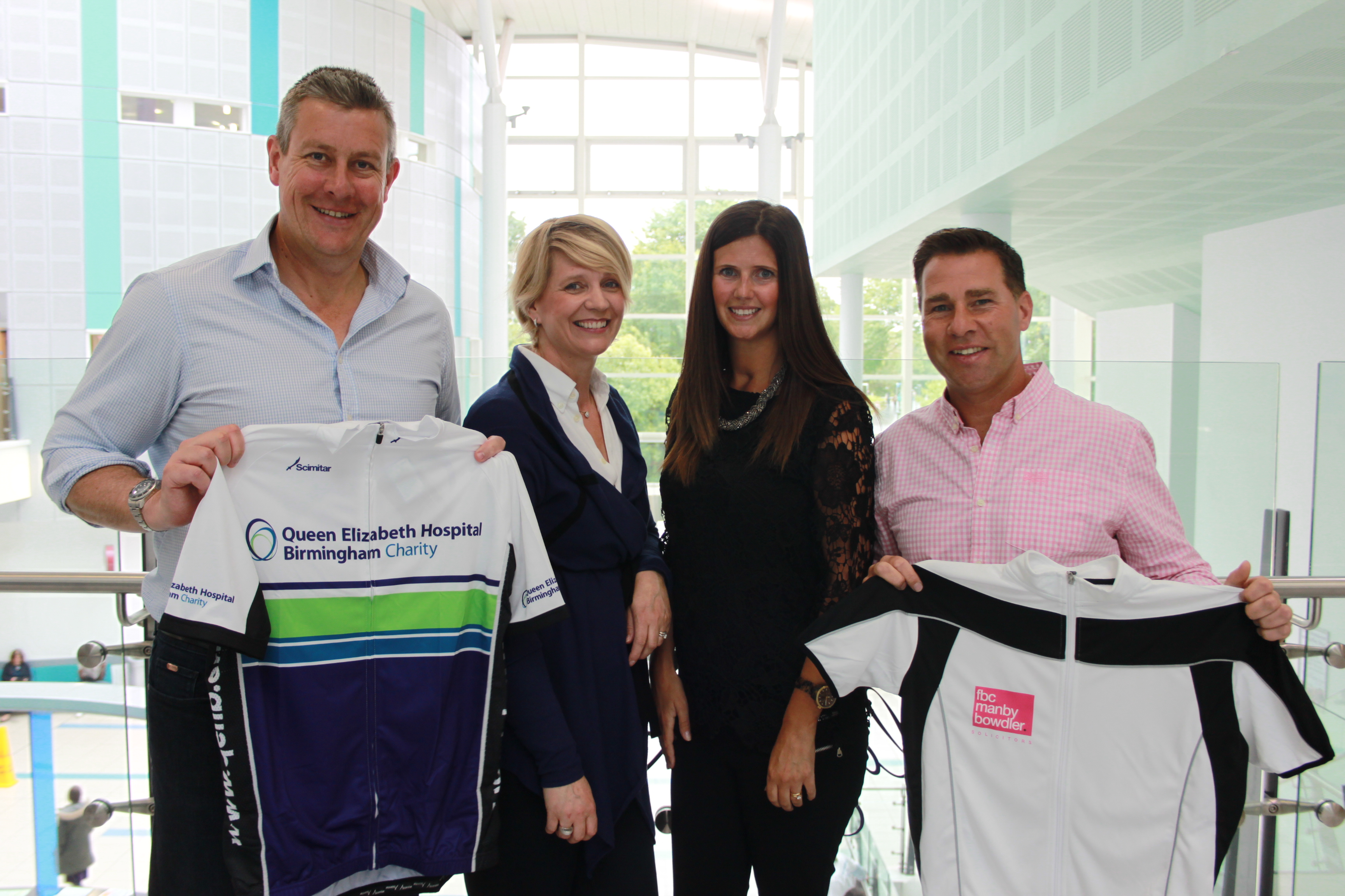 Solicitor swaps legal briefs for pedal power in charity challenge