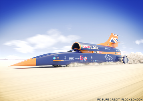 Law firm races to support supersonic project